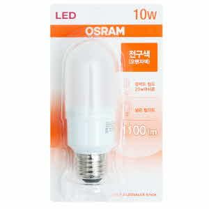 아이티알,LL 오스람 절전형 LED램프_10W(전구색)