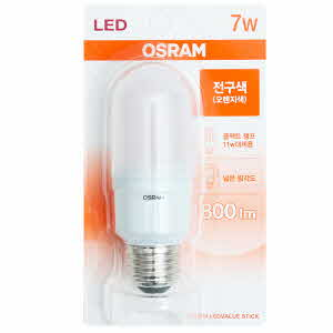 아이티알,LL 오스람 절전형 LED램프_7W(전구색)